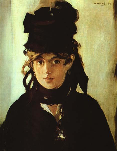 Berthe Morisot, Manet