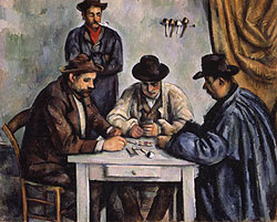 Card Players, Cezanne