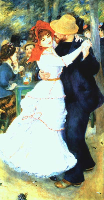 Dance at Bougival , Renoir