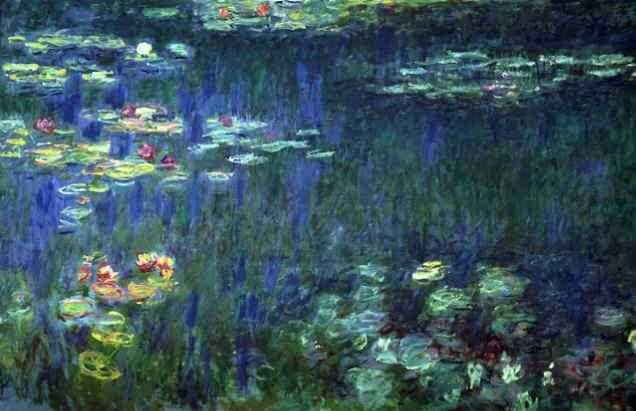 Lilypond, Monet