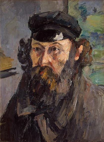 Cezanne, Sef Portrait
