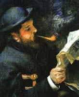 Claude Monet by Renoir
