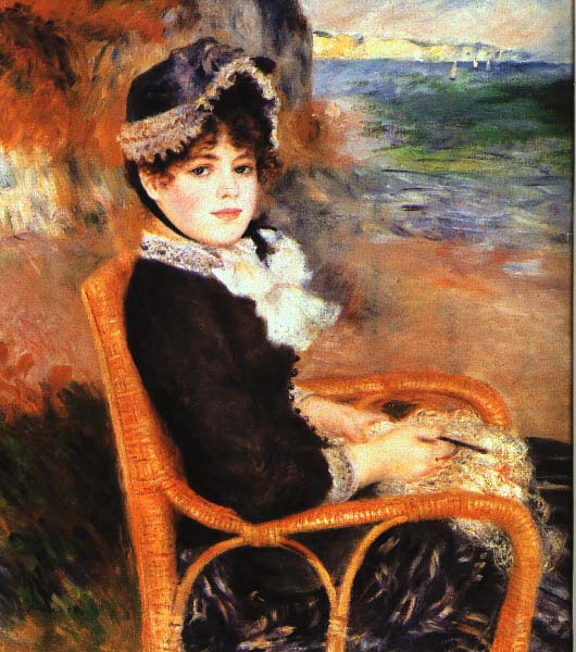By the Seashore, Renoir