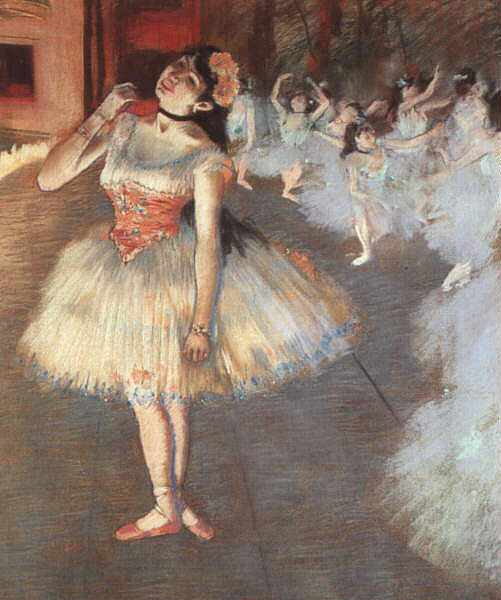 The Star, Degas
