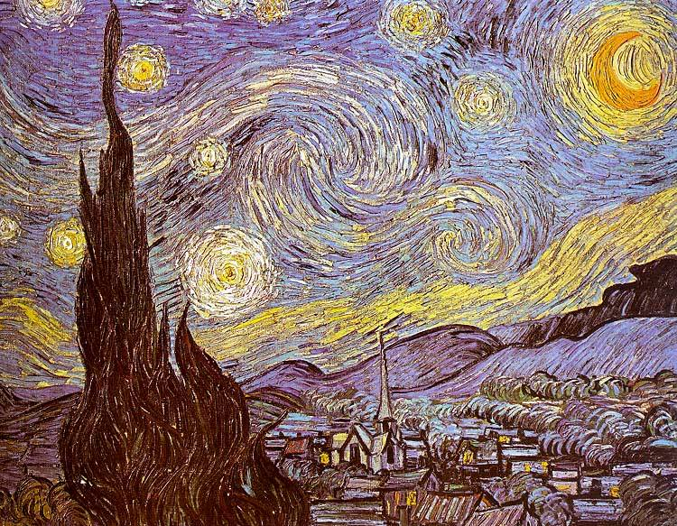 Starry Night,  Vincent  vanGogh