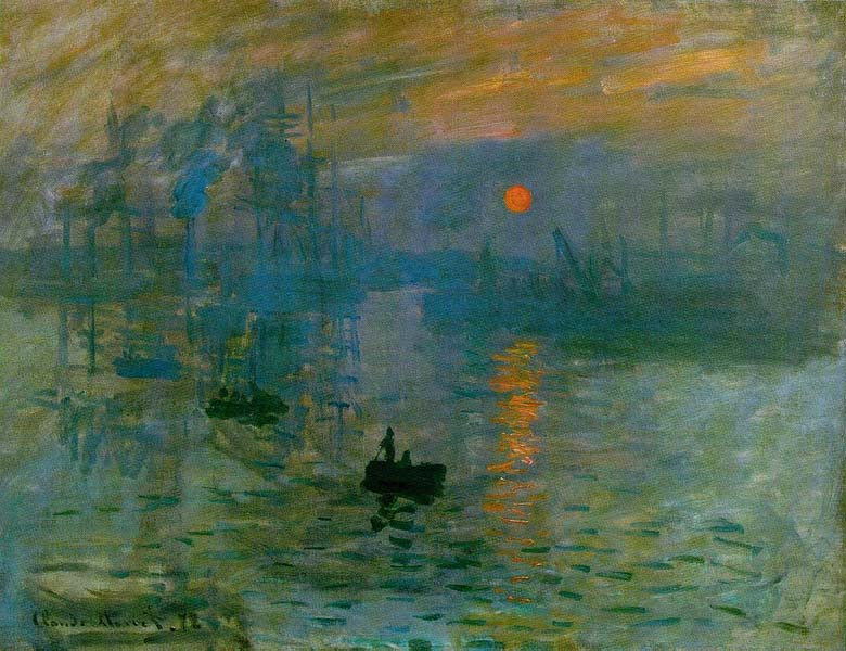 Impression:Sunsrise, Monet
