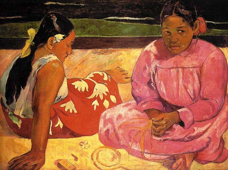 The human figure in the works of vincent van gogh and paul gauguin essay