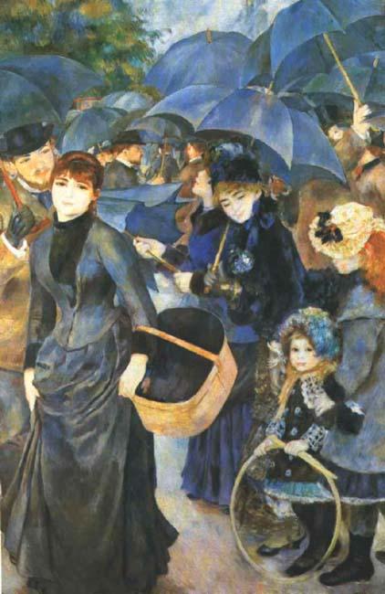 Umberelas,  Renoir
