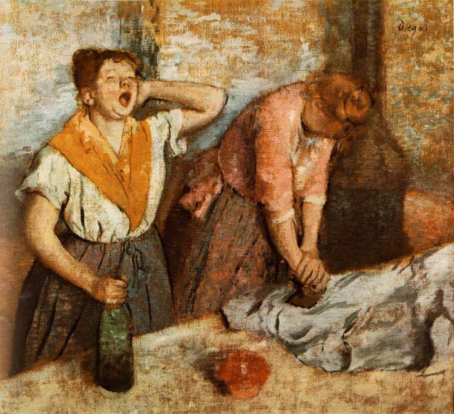 Women Ironing,  Degas